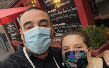 Céline et Sébastien du restaurant Le Bistrot à Liffré